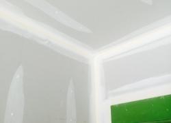 Bathroom Sheetrocked 1