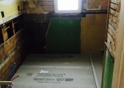 Pantry Floor During